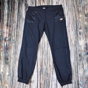 Adidas Black Jogger Pants Size Large